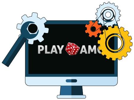 Play Amo Casino - Software
