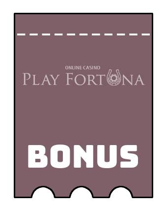 Latest bonus spins from Play Fortuna Casino