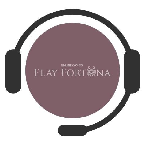 Play Fortuna Casino - Support