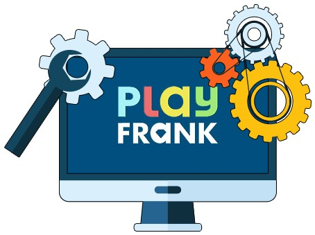 Play Frank Casino - Software