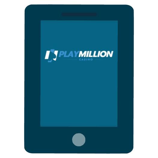 Play Million Casino - Mobile friendly