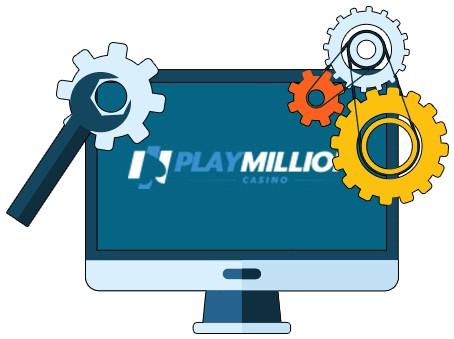 Play Million Casino - Software