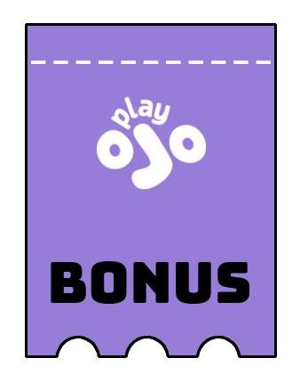 Latest bonus spins from Play Ojo Casino