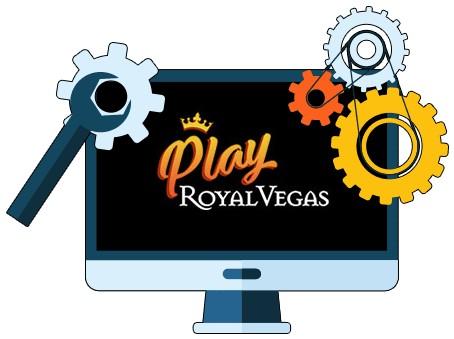 Play Royal Vegas Casino - Software