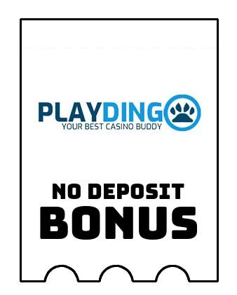 Playdingo - no deposit bonus CR