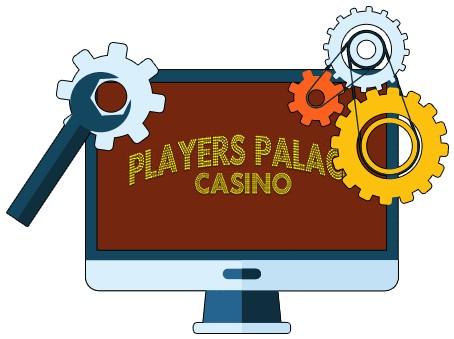 Players Palace Casino - Software