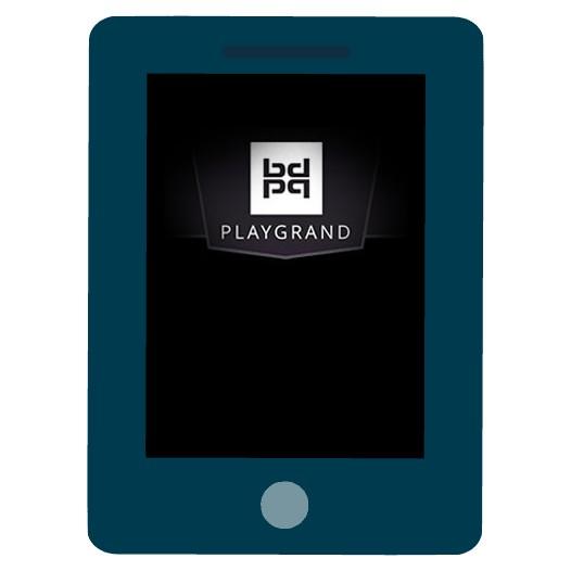 PlayGrand Casino - Mobile friendly