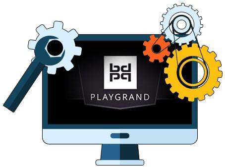 PlayGrand Casino - Software