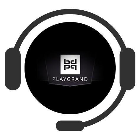 PlayGrand Casino - Support