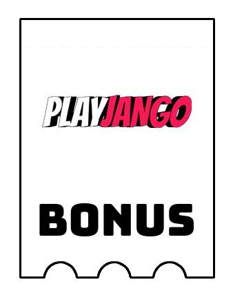 Latest bonus spins from PlayJango