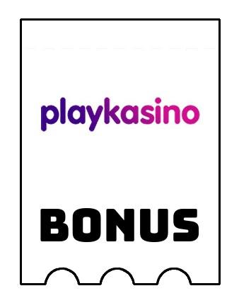 Latest bonus spins from Playkasino