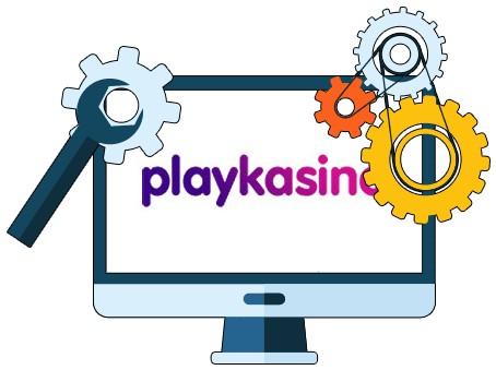 Playkasino - Software