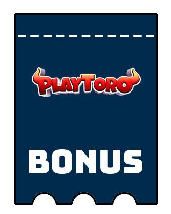 Latest bonus spins from PlayToro