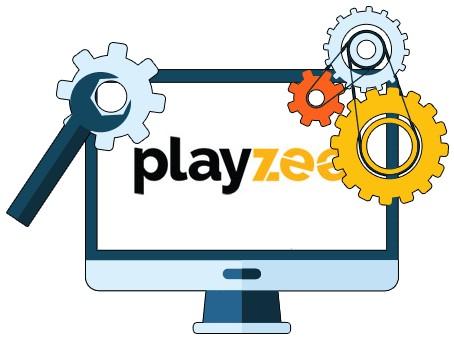 Playzee Casino - Software