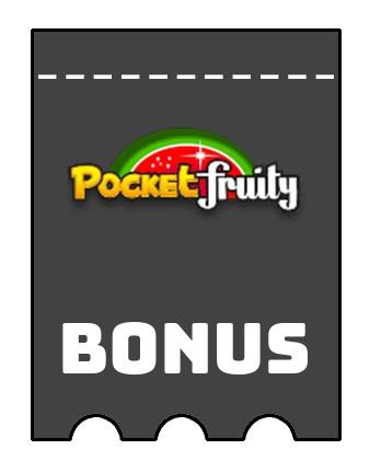 Latest bonus spins from Pocket Fruity Casino