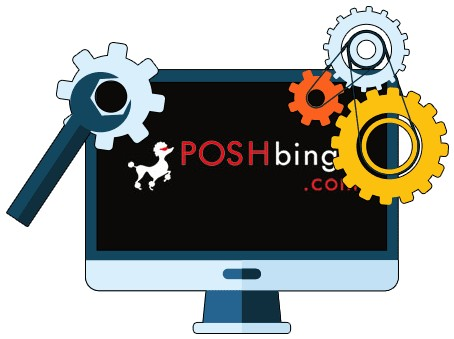 Posh Bingo Casino - Software
