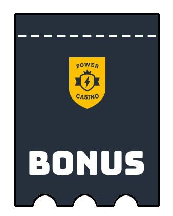 Latest bonus spins from Power Casino