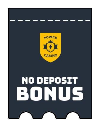 Power Casino - no deposit bonus CR