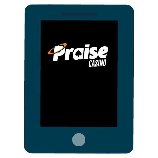 Praise Casino - Mobile friendly