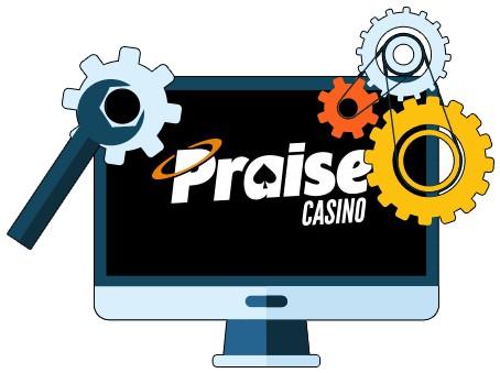 Praise Casino - Software