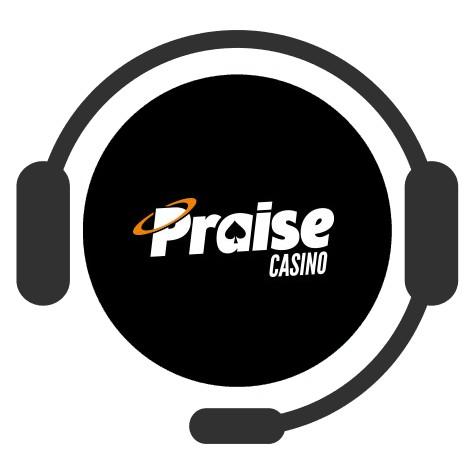 Praise Casino - Support
