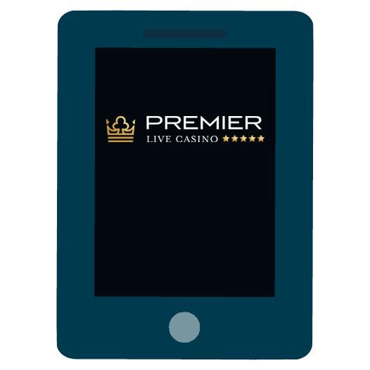 Premier Live Casino - Mobile friendly
