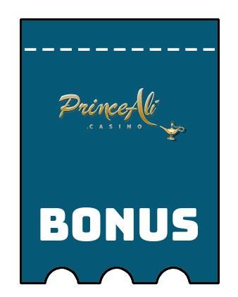 Latest bonus spins from Prince Ali