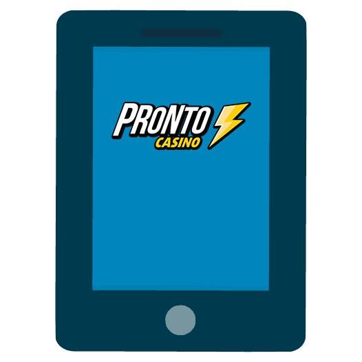 Pronto Casino - Mobile friendly