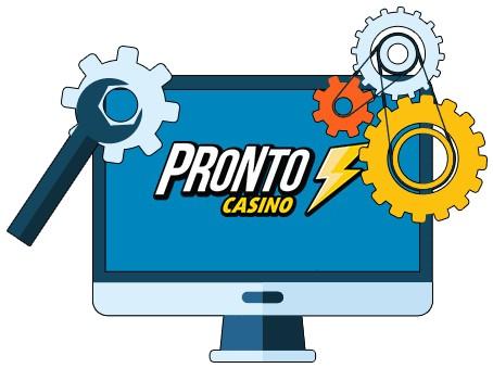 Pronto Casino - Software