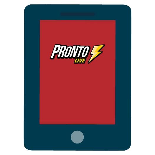 Pronto Live - Mobile friendly