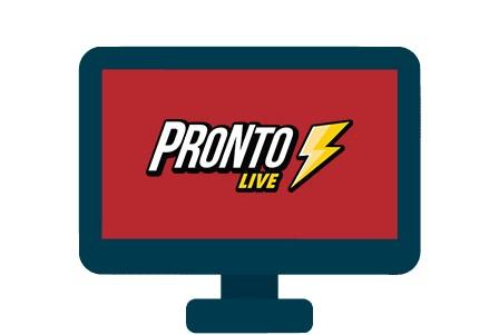 Pronto Live - casino review