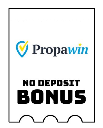 PropaWin Casino - no deposit bonus CR