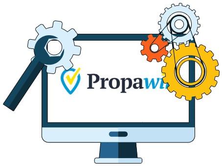 PropaWin Casino - Software