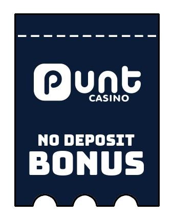 Punt Casino - no deposit bonus CR