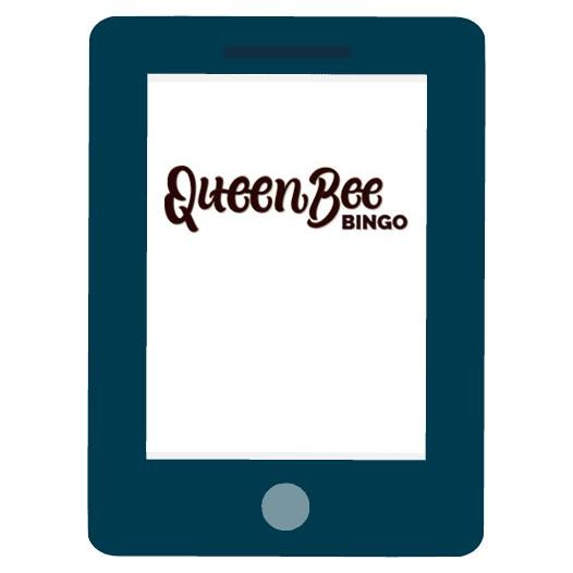 Queen Bee Bingo Casino - Mobile friendly