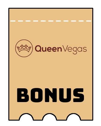 Latest bonus spins from Queen Vegas Casino
