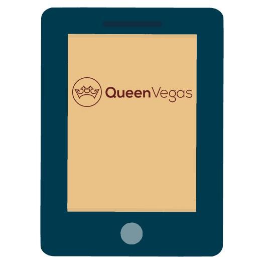 Queen Vegas Casino - Mobile friendly