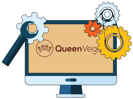 Queen Vegas Casino - Software