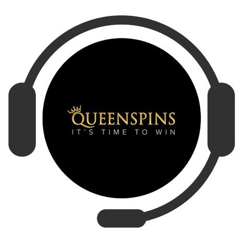 Queenspins - Support