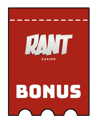 Latest bonus spins from Rant Casino