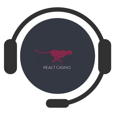 React Casino - Support