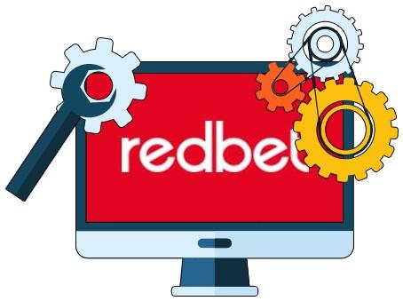 Redbet Casino - Software