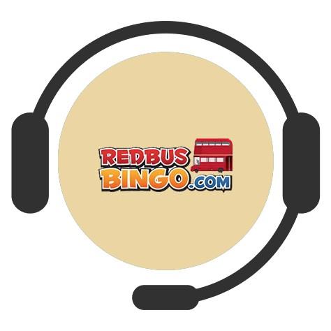 RedBus Bingo Casino - Support