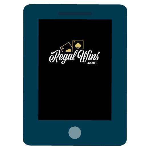 Regal Wins - Mobile friendly