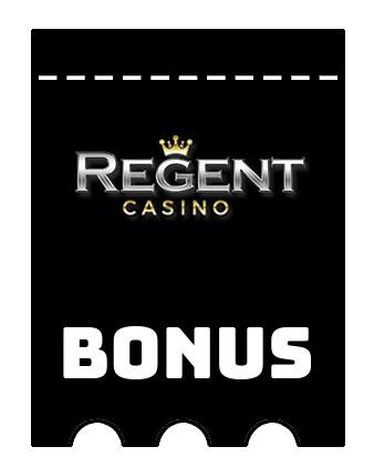 Latest bonus spins from Regent