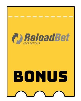 Latest bonus spins from ReloadBet Casino