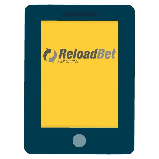 ReloadBet Casino - Mobile friendly