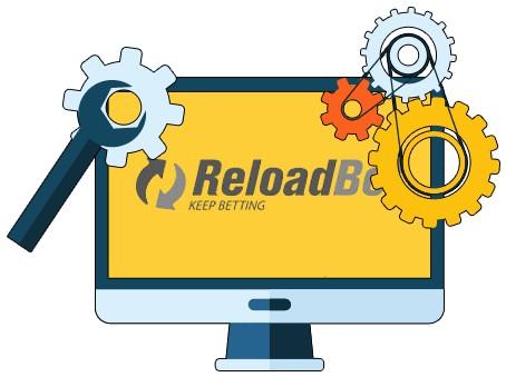 ReloadBet Casino - Software