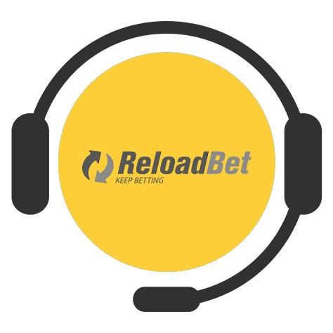 ReloadBet Casino - Support