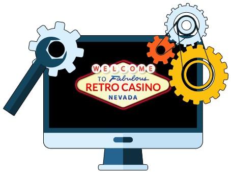 Retro Casino - Software